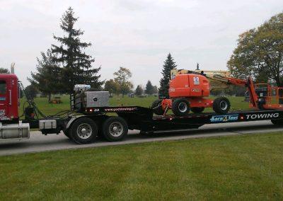 Construction Equipment Transportation