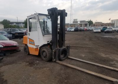 Large Fork Lift