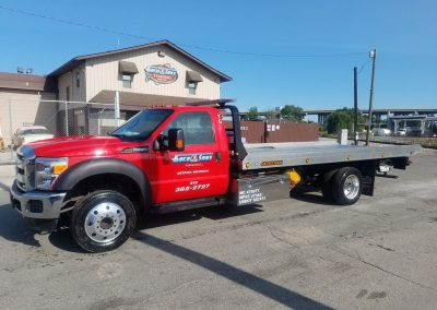 Light Duty 19' Flatbed Wrecker #4