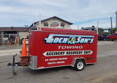 On Scene Accident Recovery Unit