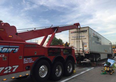 Semi-Truck Recovery