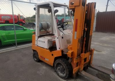Small Fork Lift